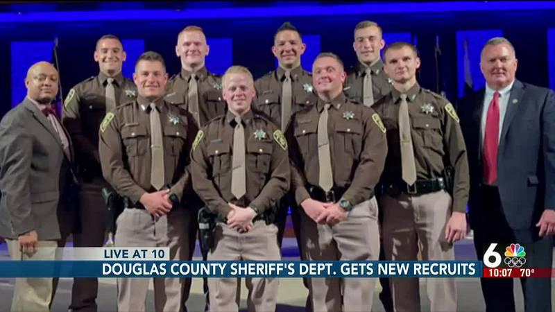 Douglas County Sheriff's Dept. gets new recruits