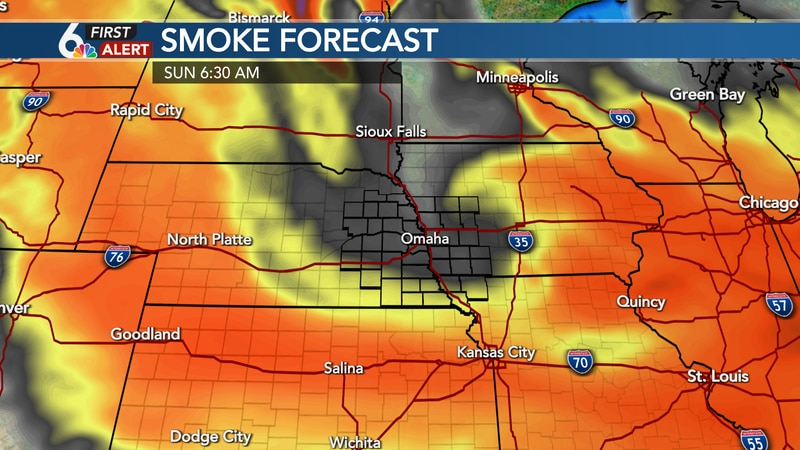 Smoke should thin out Sunday with improving air quality