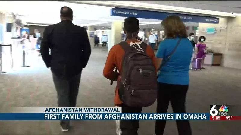 Afghans arrive in Omaha