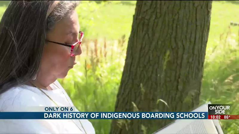 Just weeks after Canada discovered the unmarked graves of more than 200 indigenous children on...