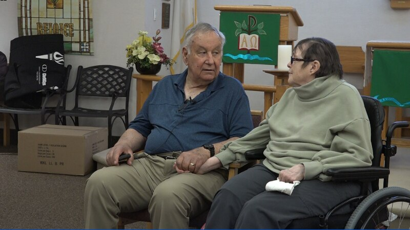 The couple's lives nearly return to normal after a tough year of being apart.