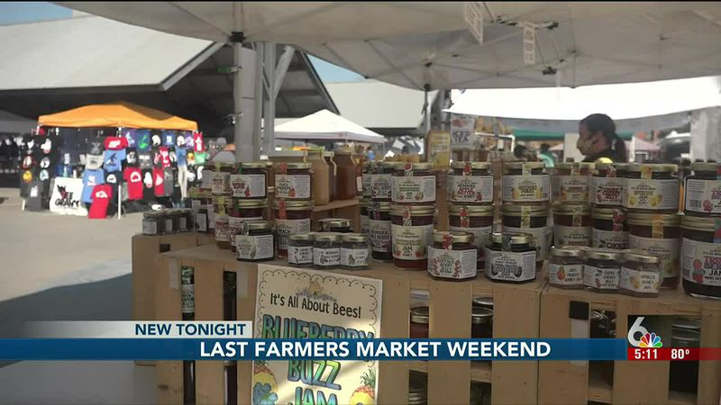 This is the final weekend of the Omaha Farmers Market this season.