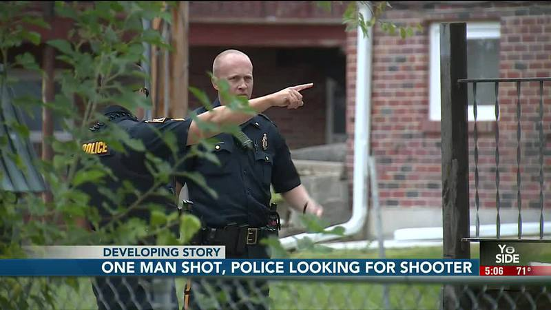 One man was injured Monday morning following a shooting in Omaha near 61st and Ames.