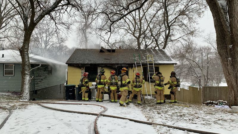 The Omaha Fire Department was called to a structure fire Monday morning near 37th and Sorensen...