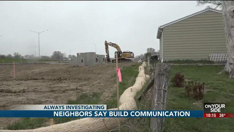 Neighbors say build communication - 10 pm