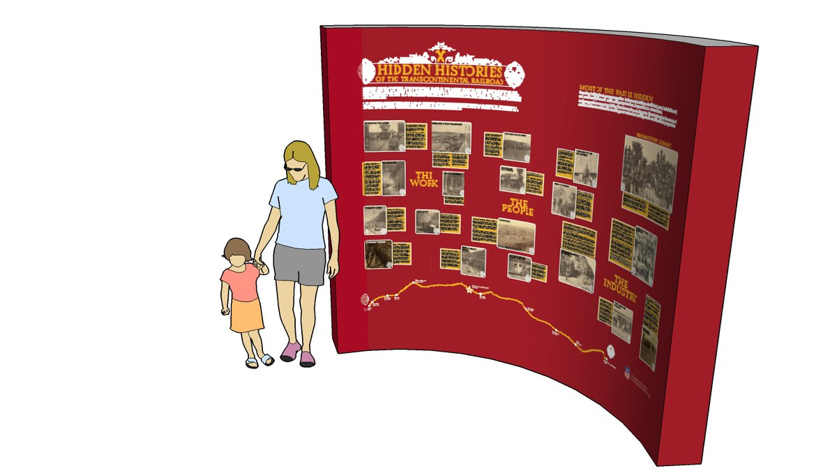 The Union Pacific Railroad Museum announced the display of two pop-up exhibits near Bayliss...