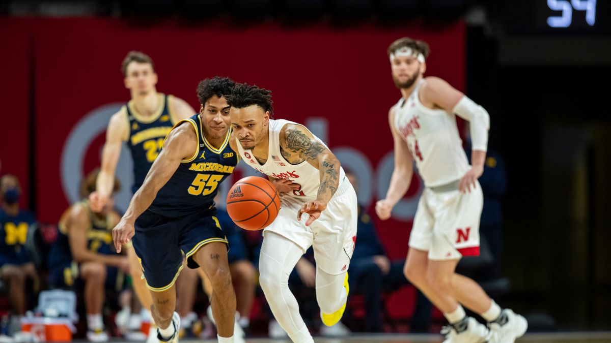Nebraska Cornhuskers guard Trey McGowens #2