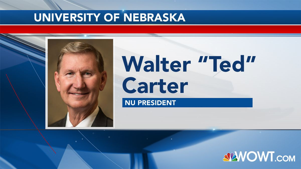 "Walter ""Ted"" Carter wins formal approval as University of Nebraska President."