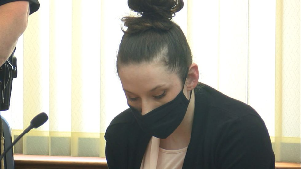 When Bailey Boswell's guilty verdicts were read, she hung her head, showing little emotion.
