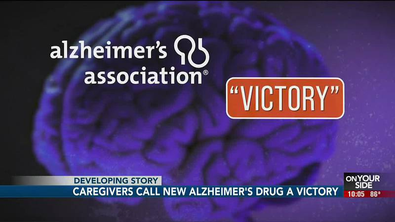 Caregivers call new Alzheimer's drug a victory