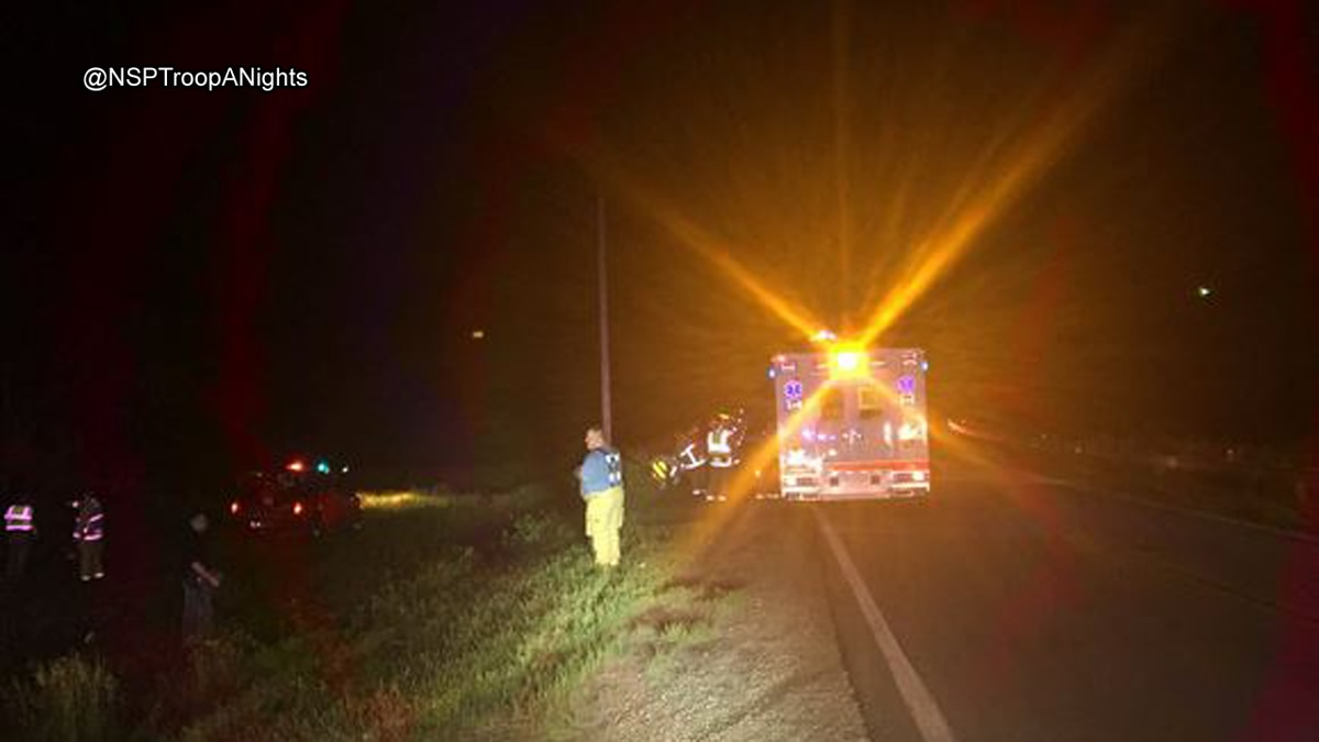 Three people were killed in a car fire in Sarpy County.