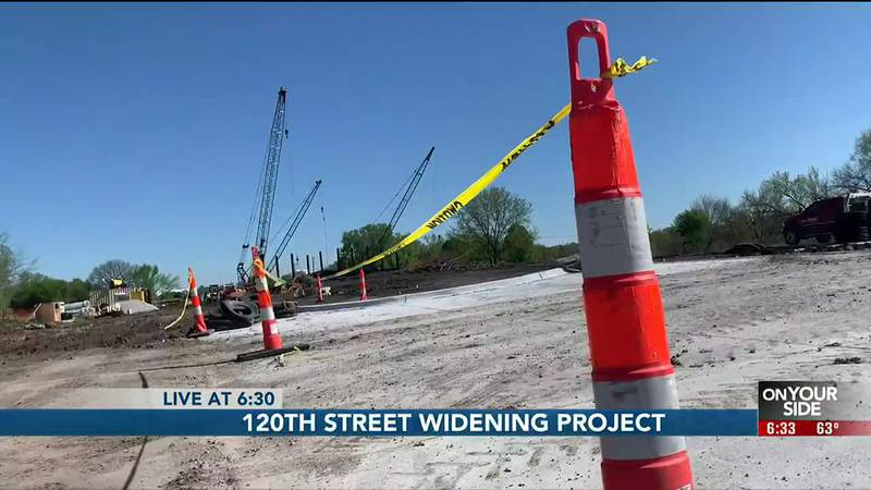 120th Street widening project