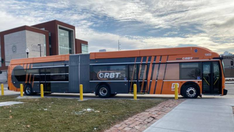ORBT buses are ready to roll in Omaha. The express route is expected to be in use this fall....