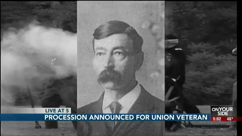 The Civil War veteran's remains will be interred at Plattsmouth's Oak Hill Cemetary on Oct. 30.
