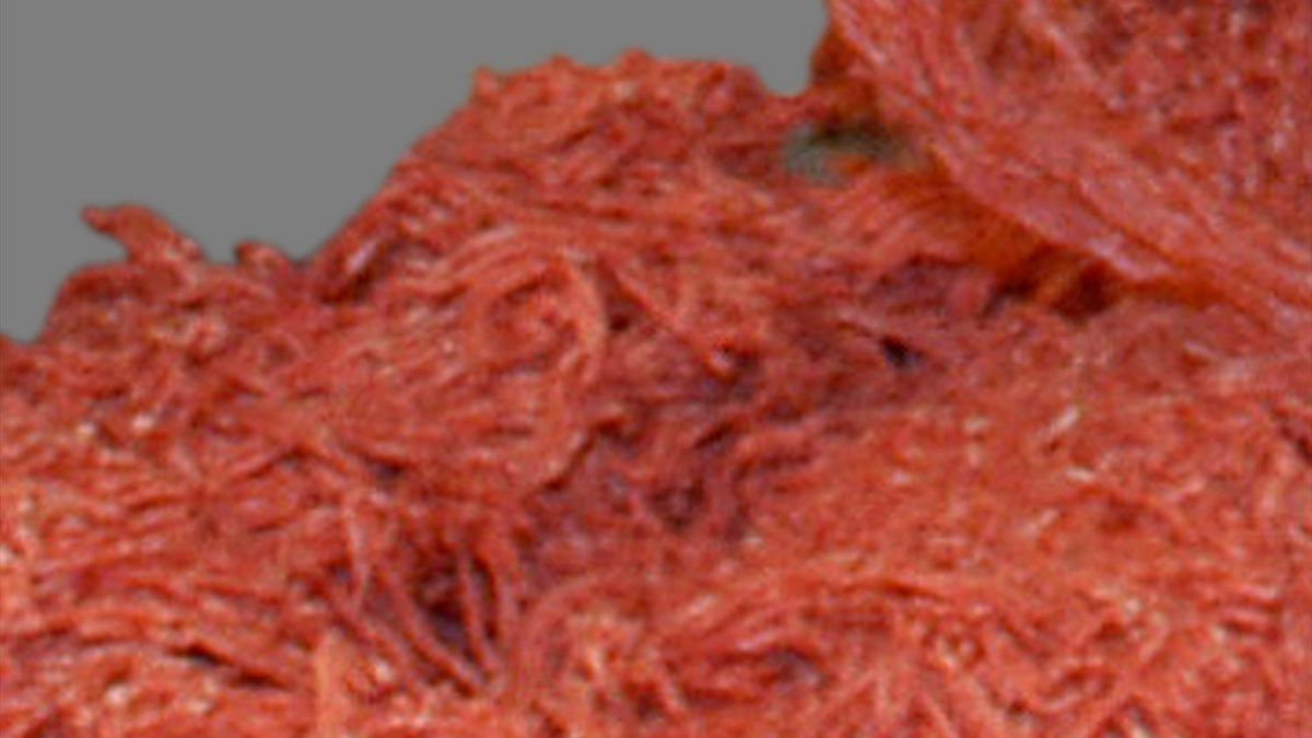 JBS Food Canada ULC is recalling 38,406 pounds of boneless beef head meat products that it says weren't presented for import re-inspection into the United States.