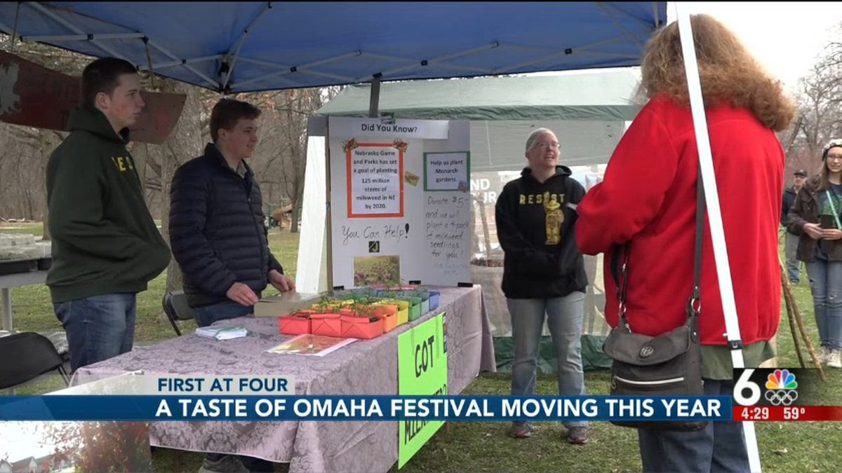 The Taste of Omaha festival is moving locations this year.