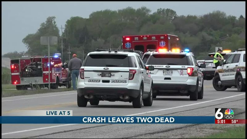 Crash leaves two dead - 5 pm