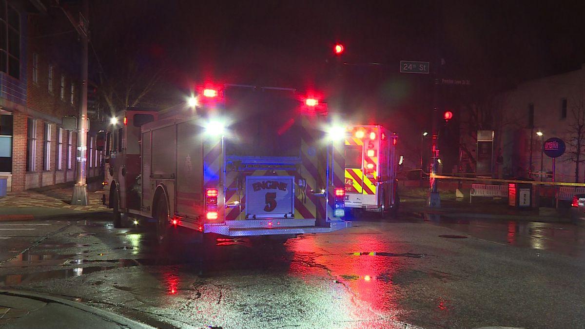 Shooting victim located in SUV dies at metro hospital.