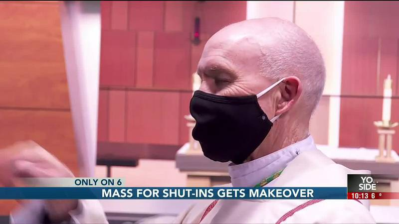 A behind the scenes look at the production of Mass for Shut-ins.