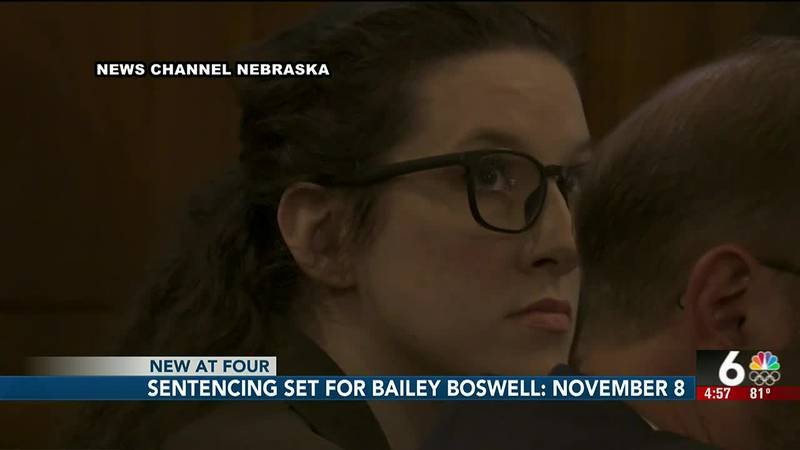 Sentencing set Bailey Boswell: November 8th - 4 pm
