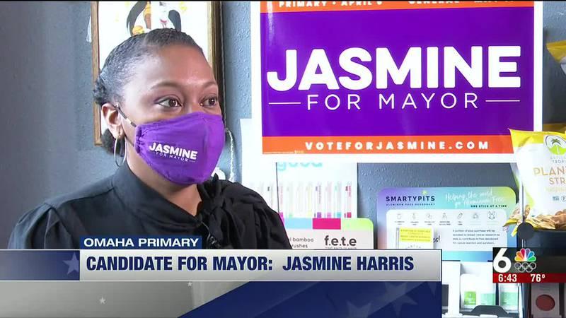 Candidate for Omaha Mayor: Jasmine Harris-6:30 p.m.