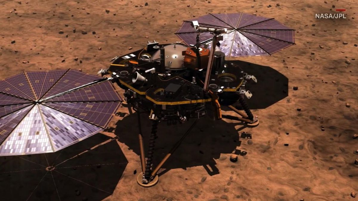 "NASA just announced it has heard the first-ever ""sounds"" of wind on Mars."