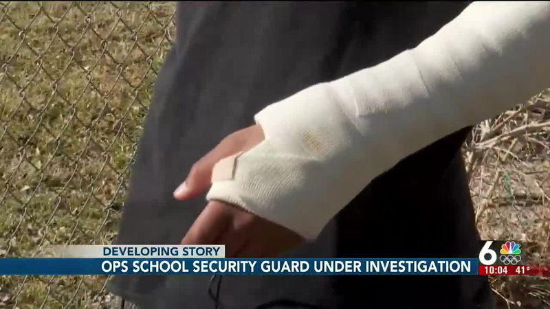 OPS school security guard under investigation