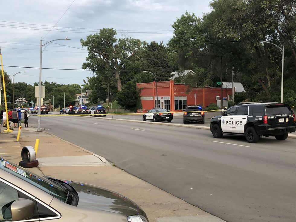 Omaha Police had Northwest Radial Hwy closed in the area of 48th Street Thursday  night.