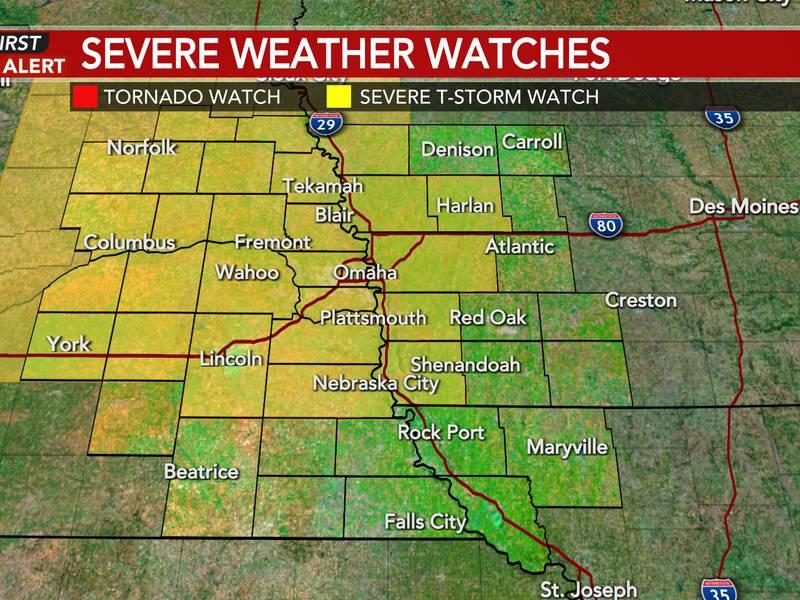 Severe T-Storm Watch until 5 AM