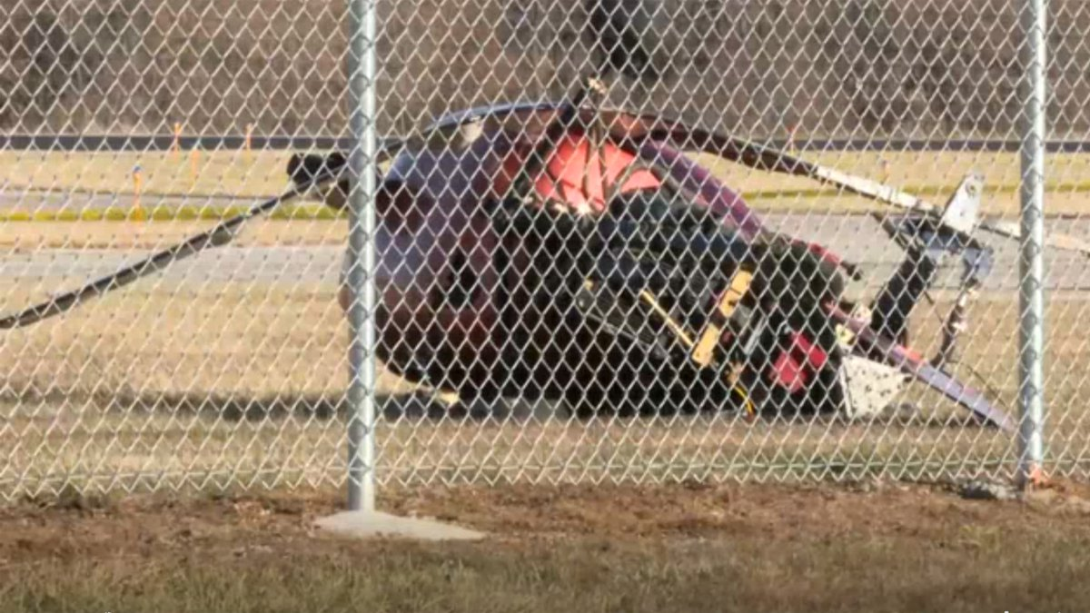 Small helicopter crashes at Millard Airport