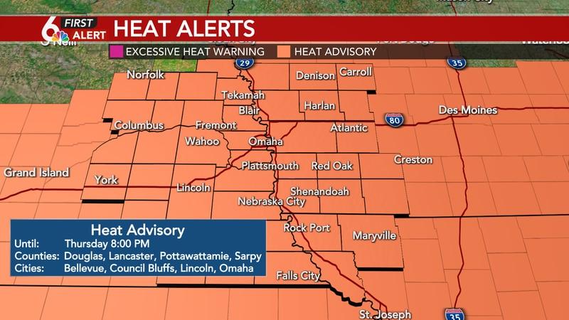 Heat Advisory This Evening