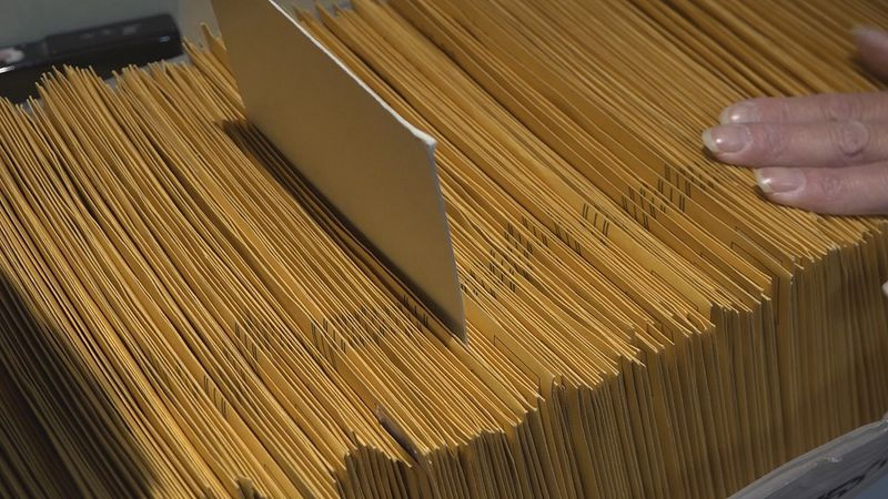 Tracking your mail-in ballot at the Douglas County Election Commission.