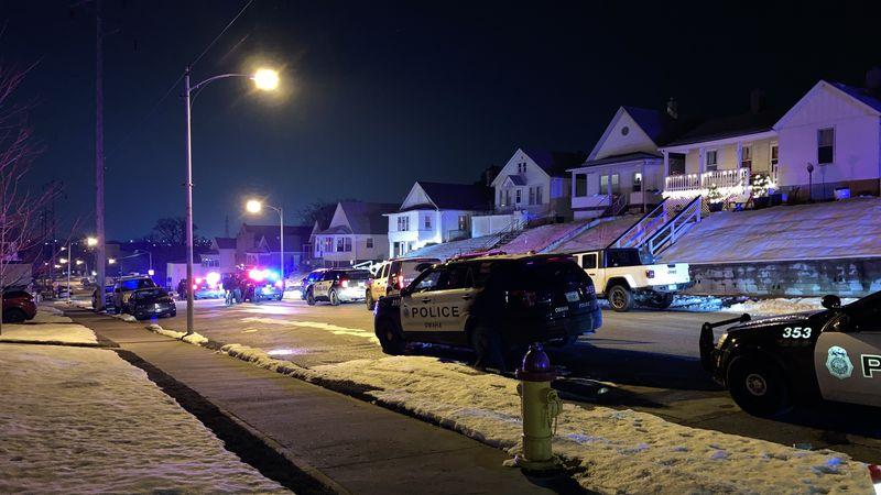 Police were called to a southeast Omaha neighborhood on Thursday night, Jan. 7, 2021.