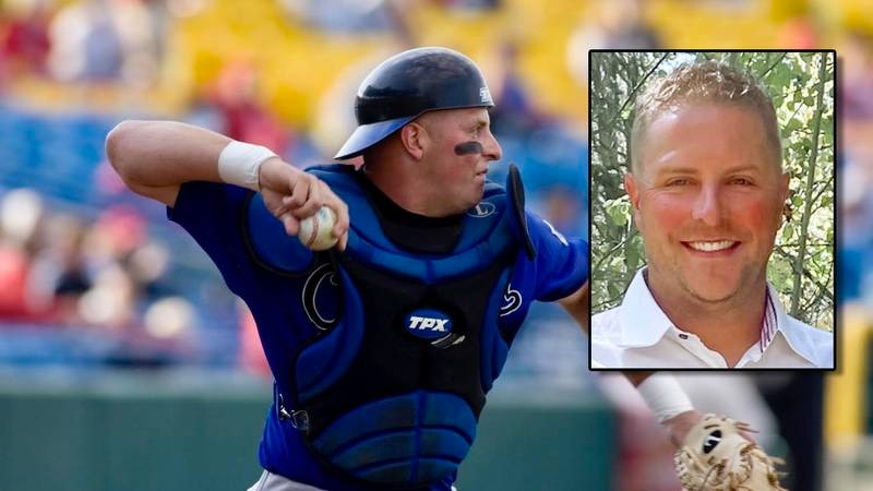 Chris Gradoville, a former Creighton Bluejay baseball player who went on to play for the Texas...