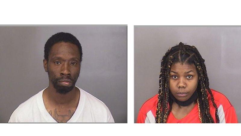 Lamar Ferguson, 34, (left) and Mia Miller, 23, (right)