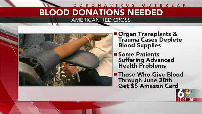 Red Cross: COVID-19 vaccination not required for blood donations