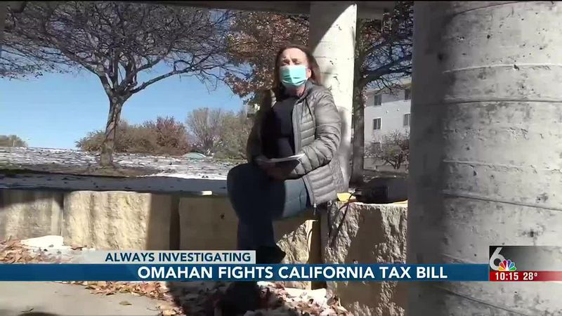 A tax bill from another state keeps landing in the mailbox of an Omaha resident who says she...