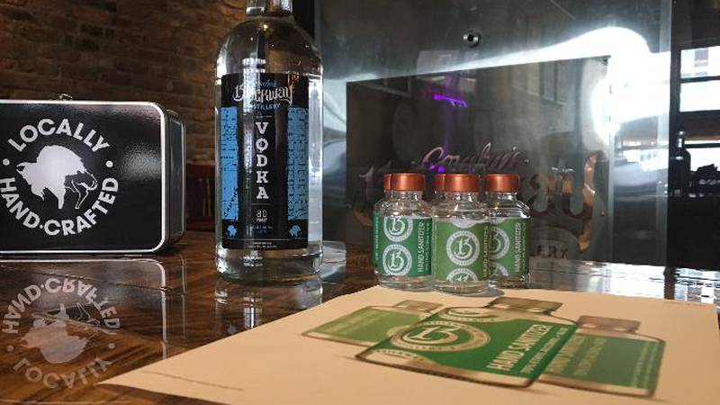 Brickway Brewery & Distillery in Omaha has plans to make hand sanitizer to help with...