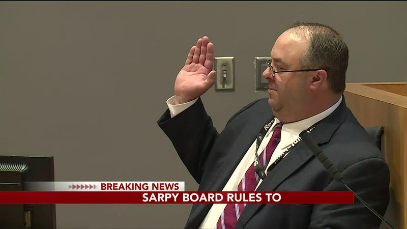 Sarpy County Treasurer removed from office - 5 pm