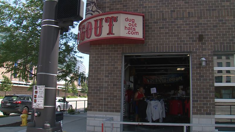 Shoppers head to The Dugout at 13th and Cuming in Omaha on 6/14/20 for special sales before...