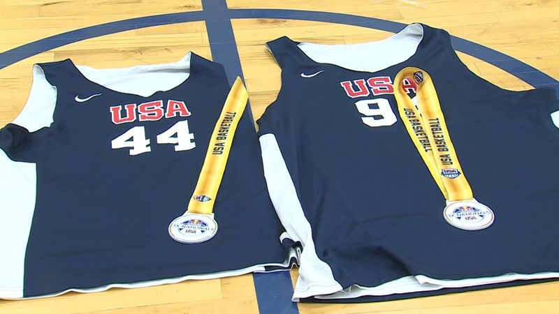 3Ball Omaha's game-worn jerseys from their win at the 3x3 nationals.