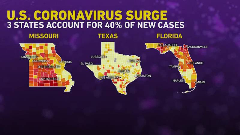 Less than half of the US population is fully vaccinated against COVID-19 and with the delta...