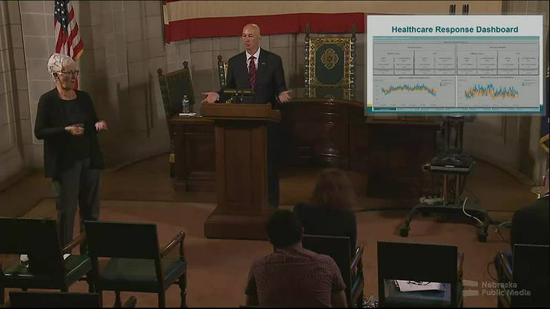 Nebraska Gov. Pete Ricketts said Monday that the state would again publish COVID-19 data, but...