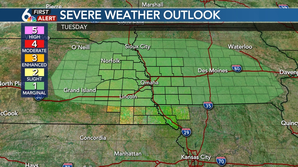 Tuesday Severe