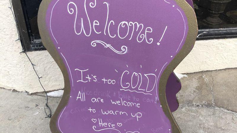 Benson café offers people a place to escape the cold