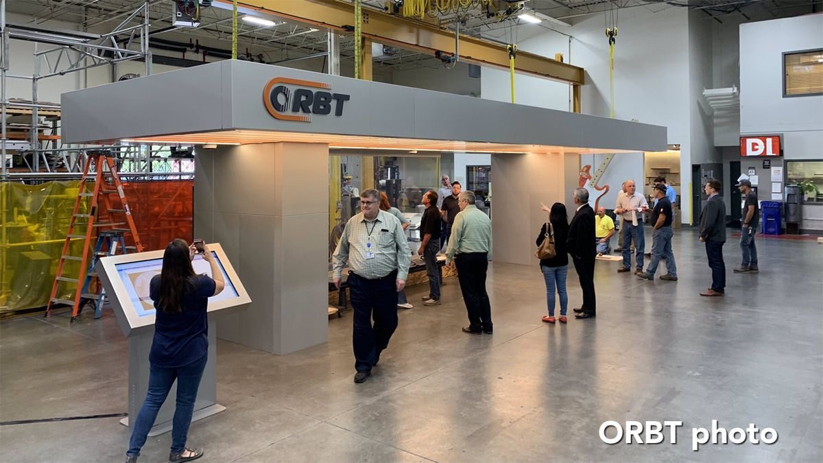 ORBT platform canopies assembled in Kansas City are destined for Omaha