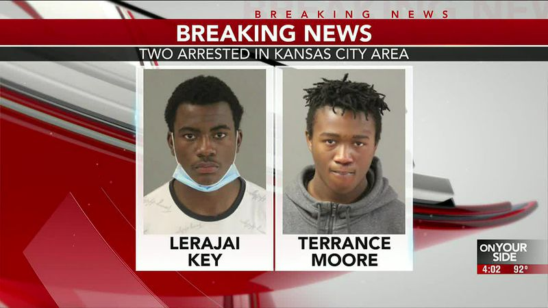 BREAKING: Two arrested in Kansas City area - 4 pm