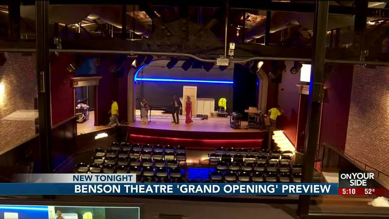 Benson Theater 'Grand Opening' preview