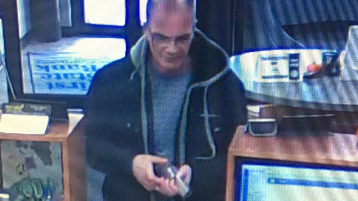 Law-enforcement agencies looking for this man, who they say robbed a Main Street bank in Fremont on Thursday afternoon, Nov. 21, 2019. (Fremont Police Department)