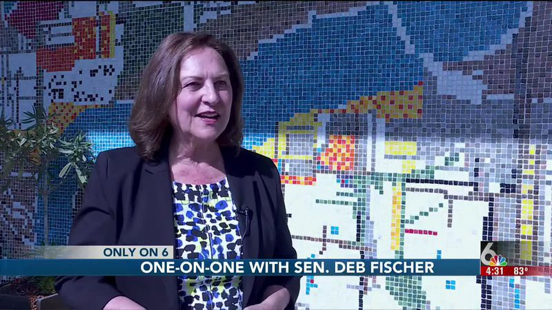 A one-on-one interview with US Sen. Deb Fischer about some of the week's biggest topics.